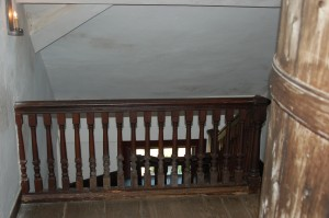 Fig. 12. Third floor balustrade